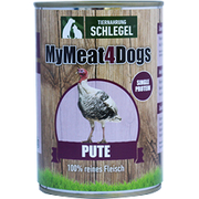 MyMeat4Dogs Pute 820g